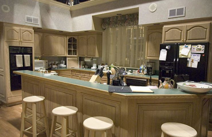 In The Show The Sopranos, This Gave Us A Peek Into A More Traditional  Kitchen Right When Granite Countertops Began To Emerge. The Cabinetry Also  Lead To The ...