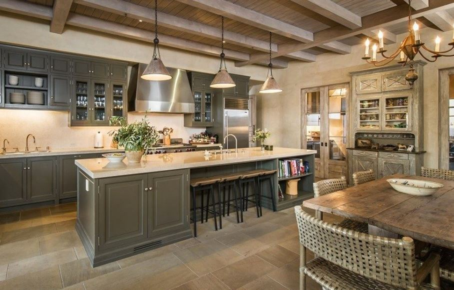 10 Celebrity Kitchens For Your Home - Cretens Custom Cabinetry