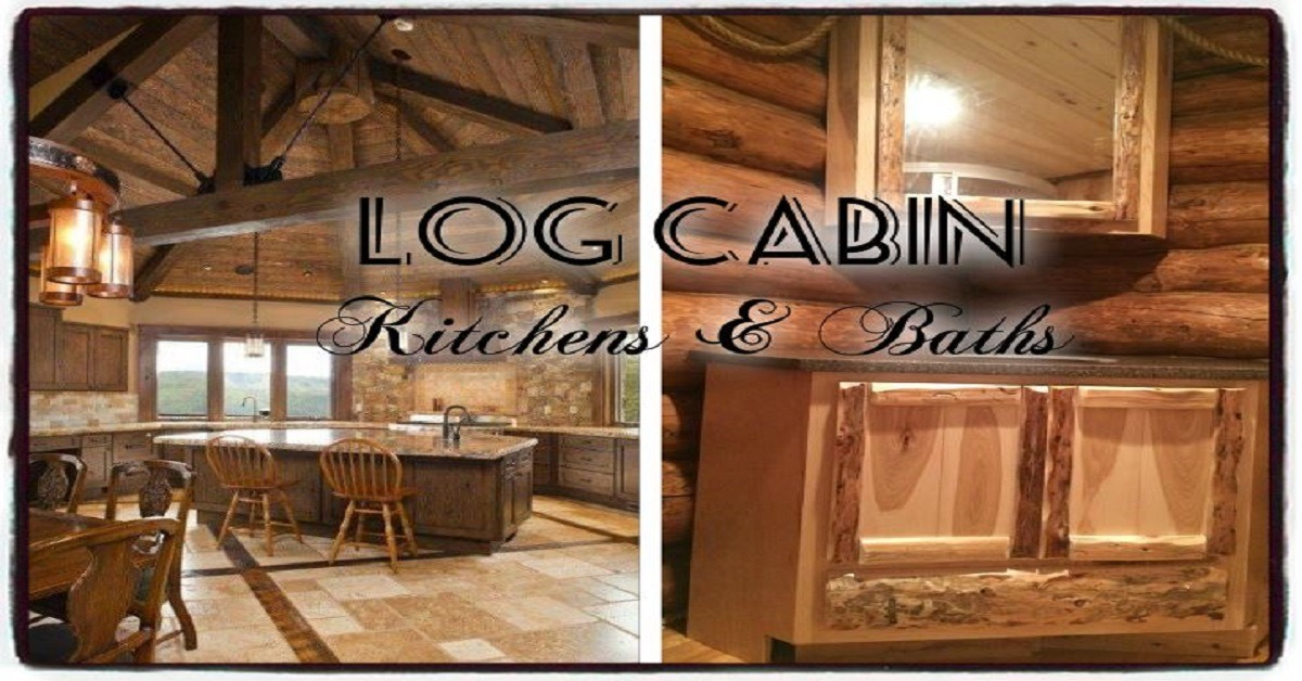Log Cabin Kitchens & Baths - Cretens Custom Cabinetry